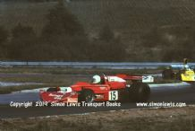March 752 BDX  Val Musetti  Shellsport 5000 Oulton Park 1976. action photo